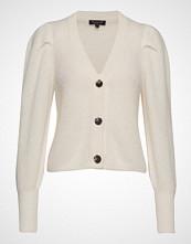 Selected Femme Slfiva Ls Knit Cardigan B Strikkegenser Cardigan Creme SELECTED FEMME