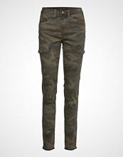 Cream Anina Carmu Pants - Shape Fit Bukser Med Rette Ben Grønn CREAM