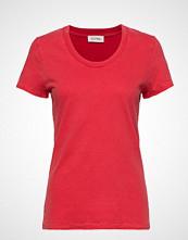 American Vintage Fuzycity T-shirts & Tops Short-sleeved Rød AMERICAN VINTAGE