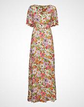 by Ti Mo Delicate Semi Wrap Dress Maxikjole Festkjole Rosa BY TI MO
