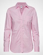 GAP Fitted Bf Shirt Langermet Skjorte Rosa GAP