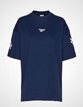 Reebok Classics Cl V P Over D Tee T-shirts & Tops Short-sleeved Blå REEBOK CLASSICS