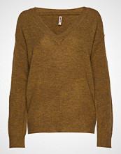 Imitz Pullover-Knit Heavy Strikket Genser Brun IMITZ