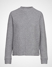 Mango Textured Knit Sweater Strikket Genser Grå MANGO