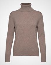Filippa K Cashmere Roller Neck Sweater Høyhalset Pologenser Beige FILIPPA K