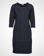 Gerry Weber Edition Dress Knitted Fabric Knelang Kjole Blå GERRY WEBER EDITION