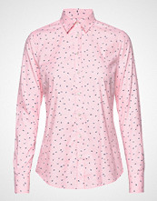 Gant D2. Lure Printed Stretch Oxf Shirt Langermet Skjorte Rosa GANT