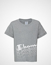 Cènnìs Crop Top T-shirts & Tops Short-sleeved Grå CHAMPION