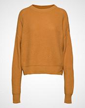 Mango Chunky-Knit Sweater Strikket Genser Gul MANGO