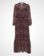 InWear Kalistaiw Long Dress Maxikjole Festkjole Brun INWEAR