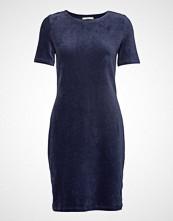 Edc by Esprit Dresses Knitted Knelang Kjole Blå EDC BY ESPRIT