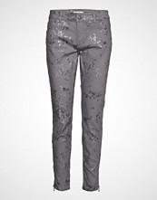 Mos Mosh Sumner Silver Pant Bukser Med Rette Ben Grå MOS MOSH