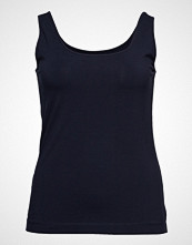Violeta by Mango Essential Strap Top T-shirts & Tops Sleeveless Blå VIOLETA BY MANGO