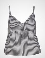 Hollister Tie Front Cami T-shirts & Tops Sleeveless Blå HOLLISTER