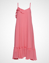 DESIGNERS, REMIX Eloe Strap Dress Knelang Kjole Rosa DESIGNERS, REMIX