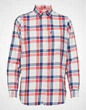 Lexington Clothing Isa Flannel Shirt Langermet Skjorte Rød LEXINGTON CLOTHING