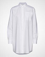 Karl Lagerfeld Embellished Logo Poplin Shirt Langermet Skjorte Hvit KARL LAGERFELD