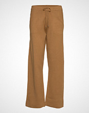 Vero Moda Vmlounge Nw Knit Trousers Vide Bukser Brun VERO MODA