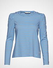 Odd Molly Miss Stripes Top T-shirts & Tops Long-sleeved Blå ODD MOLLY