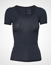 Schiesser Shirt 1/2 T-shirts & Tops Short-sleeved Blå SCHIESSER