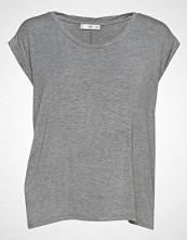 Mango Rolled-Up Sleeves T-Shirt T-shirts & Tops Short-sleeved Grå MANGO
