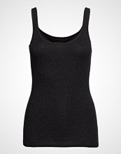 Schiesser Top T-shirts & Tops Sleeveless Svart SCHIESSER