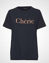 FREE/QUENT Bita-Tee T-shirts & Tops Short-sleeved Blå FREE/QUENT