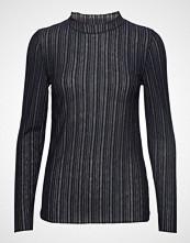 Cream Samantha Turtle Neck T-shirts & Tops Long-sleeved Blå CREAM
