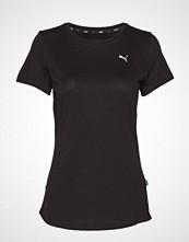 Puma Ess Tee T-shirts & Tops Short-sleeved Svart PUMA