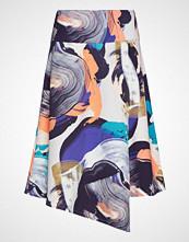Nanso Ladies Skirt, Orvokki Knelangt Skjørt Multi/mønstret NANSO