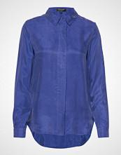 Selected Femme Slfria-Odette Ls Shirt B Langermet Skjorte Blå SELECTED FEMME