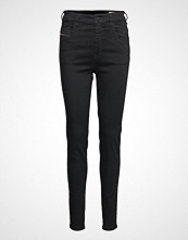 Diesel Women Slandy-High Trousers Skinny Jeans Svart DIESEL WOMEN