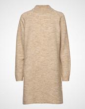 Pulz Jeans Pzrosemary L/S Dress Strikket Kjole Beige PULZ JEANS