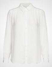 Vila Vilucy L/S Button Shirt - Noos Langermet Skjorte Hvit VILA