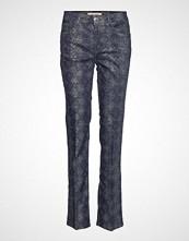 Mos Mosh Sim Cobra Long Pant Bukser Med Rette Ben Blå MOS MOSH