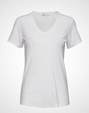 Levete Room Lr-Any T-shirts & Tops Short-sleeved Hvit LEVETE ROOM