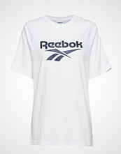 Reebok Classics Cl V P Tee Unisex T-shirts & Tops Short-sleeved Hvit REEBOK CLASSICS