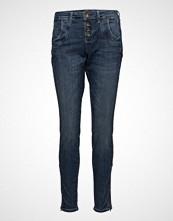 Pulz Jeans Melina Loose Jeans Skinny Jeans Blå PULZ JEANS