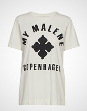 By Malene Birger Marianne T-shirts & Tops Short-sleeved Hvit BY MALENE BIRGER