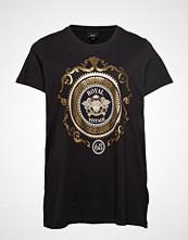 Zizzi Xmanja, S/S, T-Shirt T-shirts & Tops Short-sleeved Svart ZIZZI