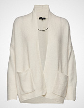 Selected Femme Slfkylie Ls Knit Cardigan B Strikkegenser Cardigan Creme SELECTED FEMME