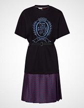 Hilfiger Collection Hcw Monogram Tshirt, Knelang Kjole Blå HILFIGER COLLECTION