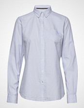 Signal L/S Shirts Langermet Skjorte Blå SIGNAL