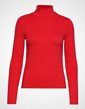Mango Bott D Ribbed T-Shirt T-shirts & Tops Long-sleeved Rød MANGO