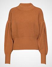 Just Female Sophie High Neck Knit Strikket Genser Oransje JUST FEMALE