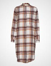 Moshi Moshi Mind Emilia Shirtdress Check Knelang Kjole Multi/mønstret MOSHI MOSHI MIND