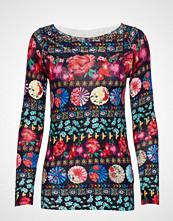 Desigual Jers Nedeerman T-shirts & Tops Long-sleeved Multi/mønstret DESIGUAL