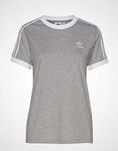 Adidas Originals 3 Str Tee T-shirts & Tops Short-sleeved Grå ADIDAS ORIGINALS