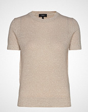 Theory Basic Tee L.Linencas T-shirts & Tops Short-sleeved Beige THEORY