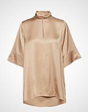 Hope Twist Shirt Bluse Kortermet Beige HOPE